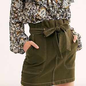 """FREE PEOPLE """"Splendor In The Grass Skirt"""" NWT (:"""